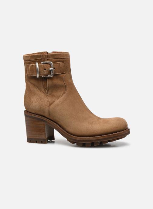 Bottines et boots Free Lance Justy 7 Small Gero Buckle Marron vue derrière