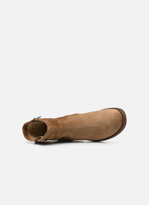 Bottines et boots Free Lance Justy 7 Small Gero Buckle Marron vue gauche