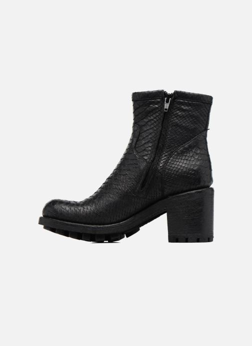 Bottines et boots Free Lance Justy 7 Small Gero Buckle Noir vue face