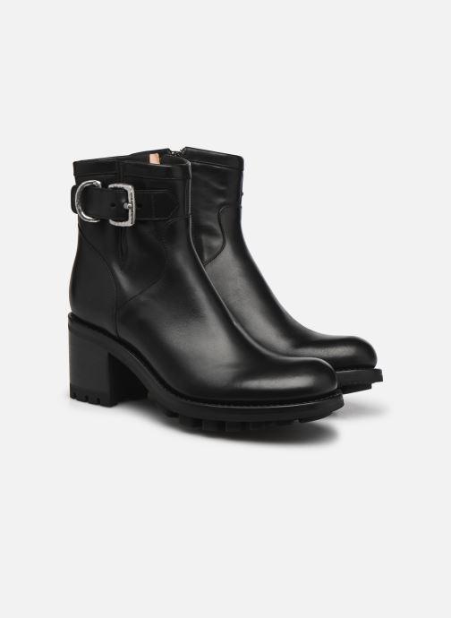 Bottines et boots Free Lance Justy 7 Small Gero Buckle Noir vue 3/4