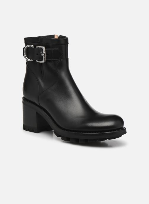 Stiefeletten & Boots Free Lance Justy 7 Small Gero Buckle schwarz detaillierte ansicht/modell