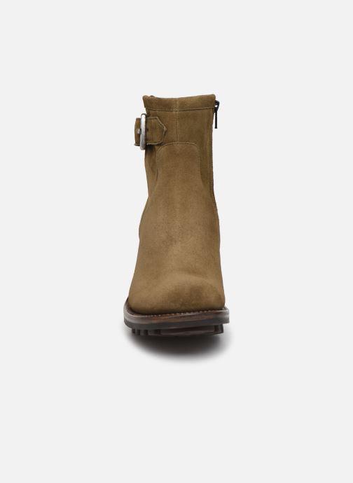 Stiefeletten & Boots Free Lance Justy 7 Small Gero Buckle grün schuhe getragen