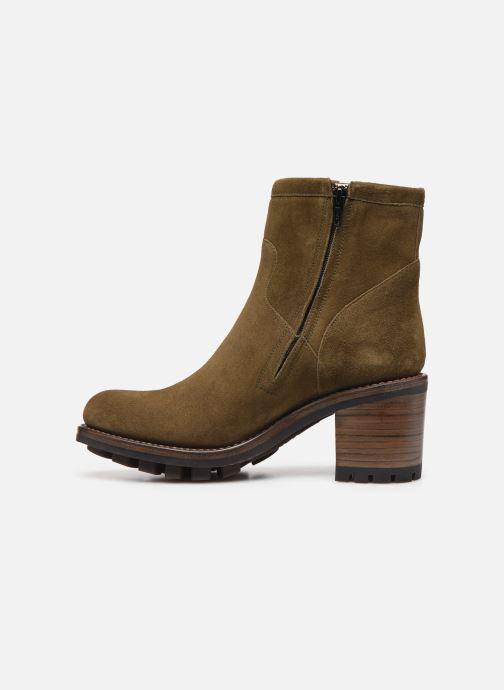 Stiefeletten & Boots Free Lance Justy 7 Small Gero Buckle grün ansicht von vorne