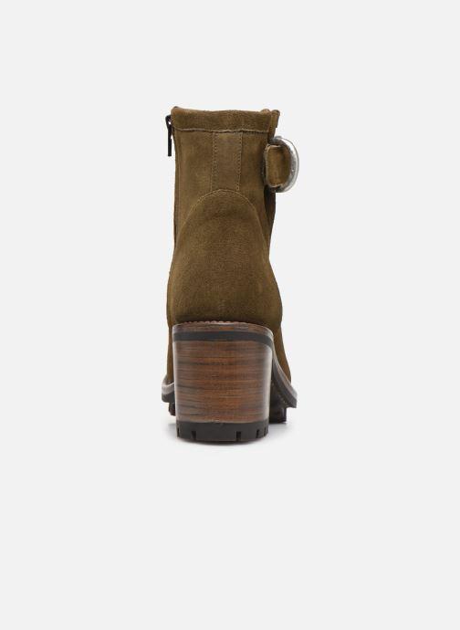 Stiefeletten & Boots Free Lance Justy 7 Small Gero Buckle grün ansicht von rechts
