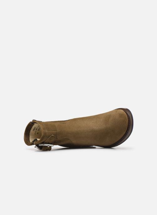 Bottines et boots Free Lance Justy 7 Small Gero Buckle Vert vue gauche