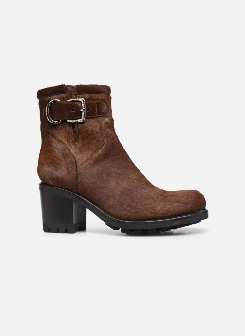 Bottines et boots Free Lance Justy 7 Small Gero Buckle Marron vue derrière