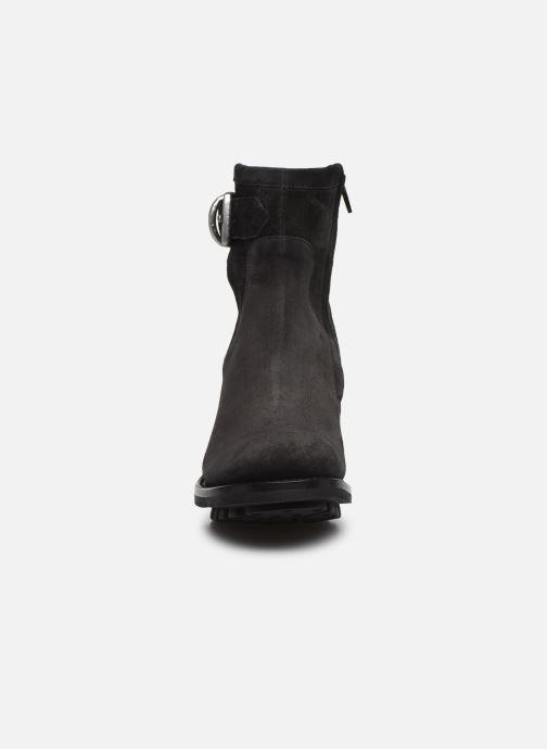Bottines et boots Free Lance Justy 7 Small Gero Buckle Noir vue portées chaussures