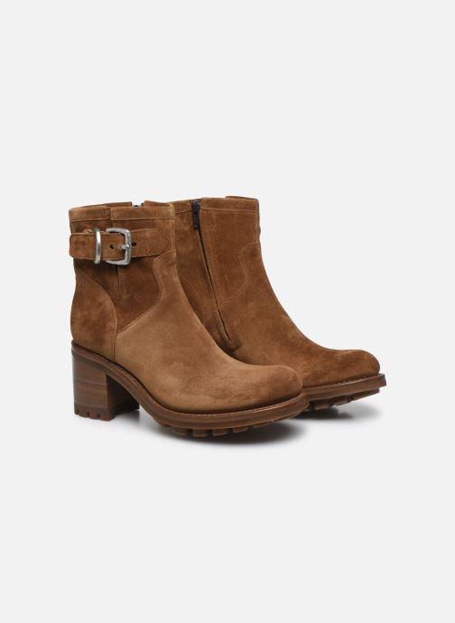 Stiefeletten & Boots Free Lance Justy 7 Small Gero Buckle braun 3 von 4 ansichten