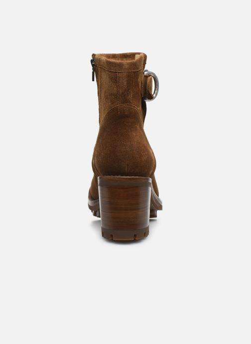 Bottines et boots Free Lance Justy 7 Small Gero Buckle Marron vue droite