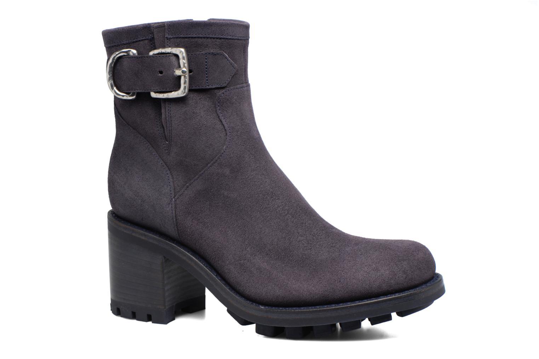 Boots en enkellaarsjes Free Lance Justy 7 Small Gero Buckle Blauw detail