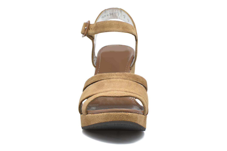 Sandales et nu-pieds Free Lance Ystad 7 Sandal Beige vue portées chaussures