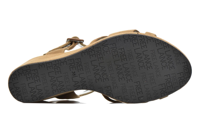 Sandales et nu-pieds Free Lance Ystad 7 Sandal Beige vue haut