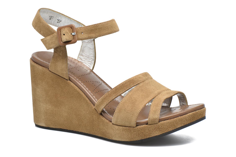 Sandales et nu-pieds Free Lance Ystad 7 Sandal Beige vue détail/paire