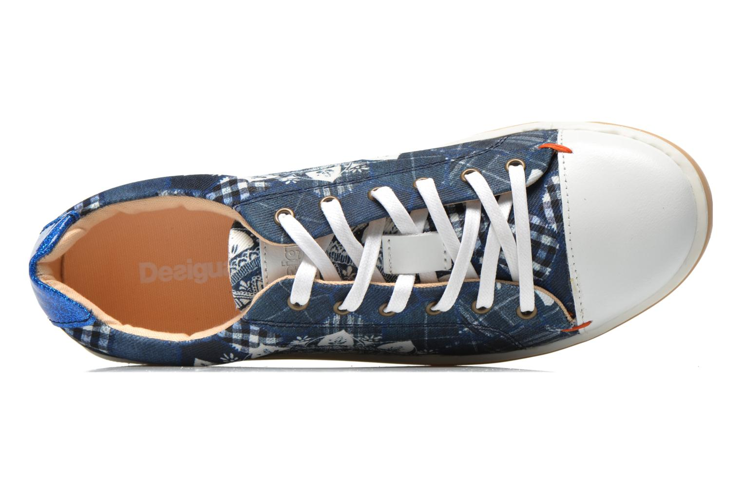 Trainers Desigual SHOES_HAPPYNESS Blue view from the left