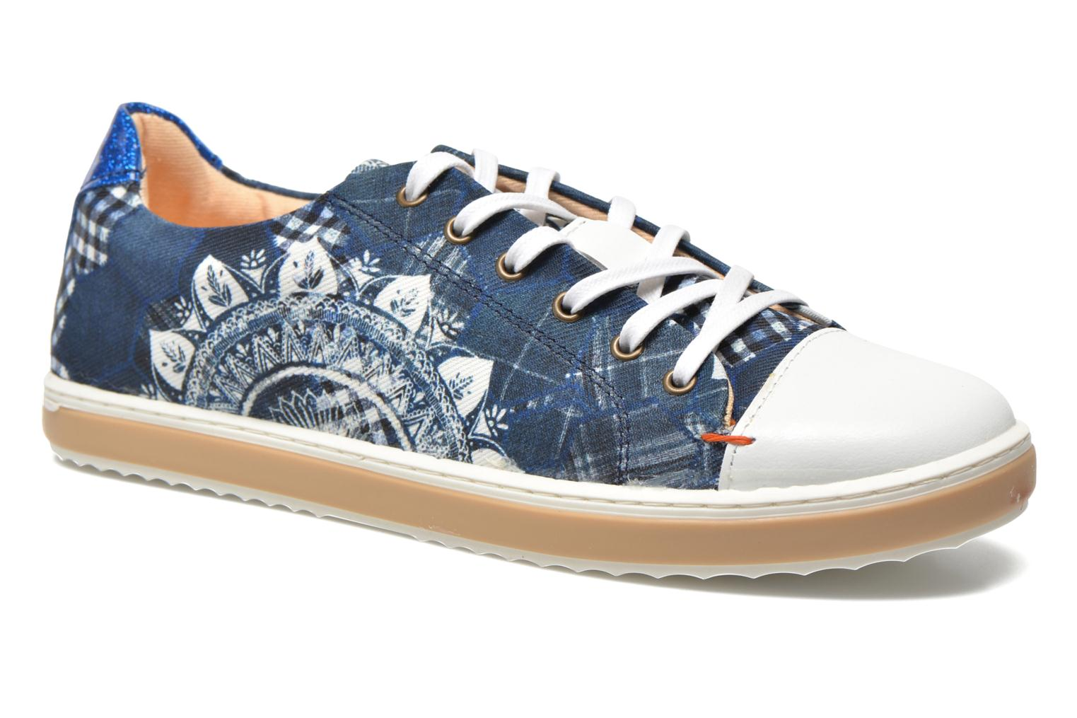 Trainers Desigual SHOES_HAPPYNESS Blue detailed view/ Pair view