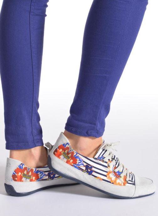 Zapatos con cordones Desigual SHOES_HAPPY 4 Multicolor vista de abajo
