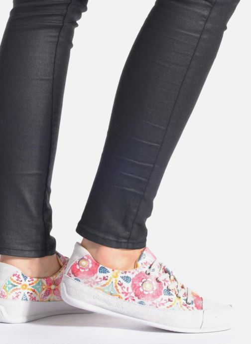 Lace-up shoes Desigual SHOES_HAPPY 9 Multicolor view from underneath / model view