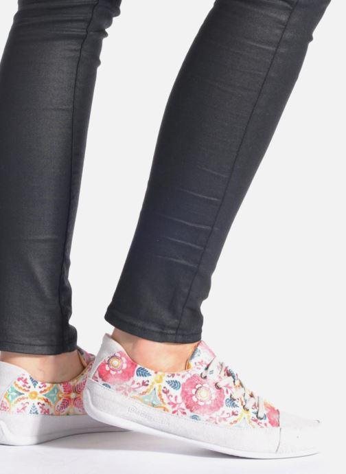 Chaussures à lacets Desigual SHOES_HAPPY 9 Multicolore vue bas / vue portée sac