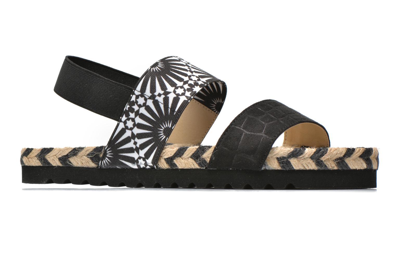 Sandales et nu-pieds Desigual SHOES_ FORMENTERA Noir vue derrière