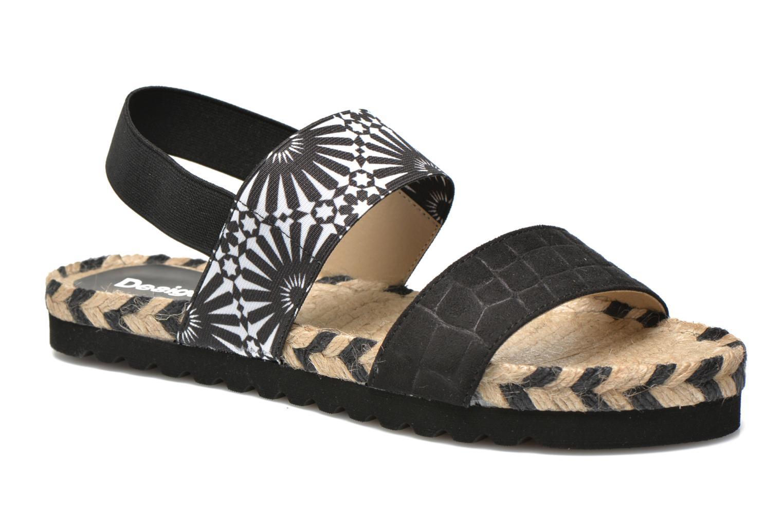 Sandalen Desigual SHOES_ FORMENTERA schwarz detaillierte ansicht/modell