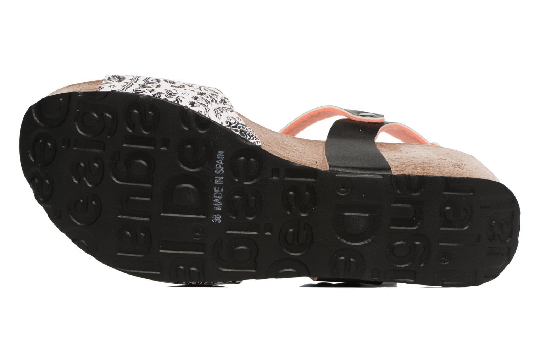 Sandales et nu-pieds Desigual SHOES_BIO 7 Multicolore vue haut