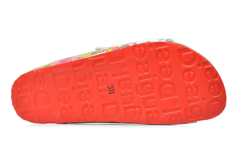 Zuecos Desigual SHOES_BIO 2 Multicolor vista de arriba