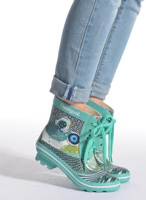 Bottines et boots Desigual SHOES_CAIQU Vert vue bas / vue portée sac