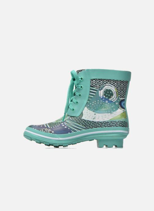 Stiefeletten & Boots Desigual SHOES_CAIQU grün ansicht von vorne
