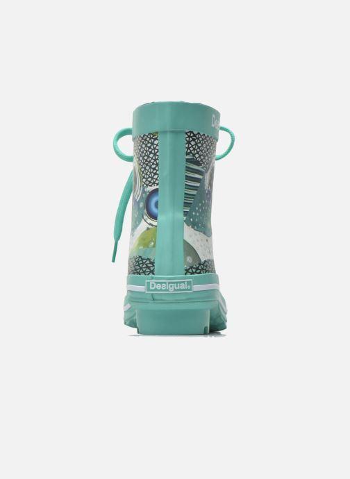 Bottines et boots Desigual SHOES_CAIQU Vert vue droite