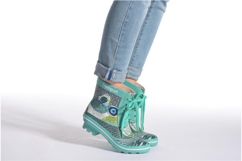 Stiefeletten & Boots Desigual SHOES_CAIQU grün ansicht von unten / tasche getragen