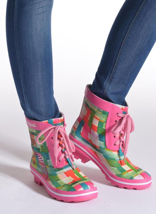 Bottines et boots Desigual SHOES_FAELA Multicolore vue bas / vue portée sac