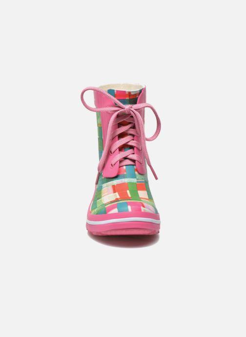 Stivaletti e tronchetti Desigual SHOES_FAELA Multicolore modello indossato