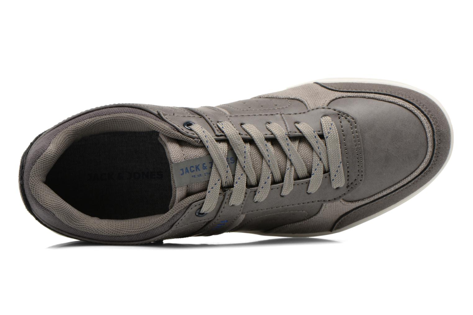 Baskets Jack & Jones JJ Barcello Gris vue gauche