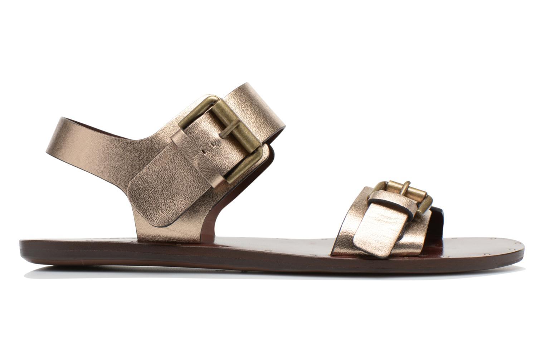 Sandales et nu-pieds See by Chloé Hiho Or et bronze vue derrière