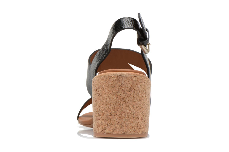 Sandales et nu-pieds See by Chloé Lev Noir vue droite