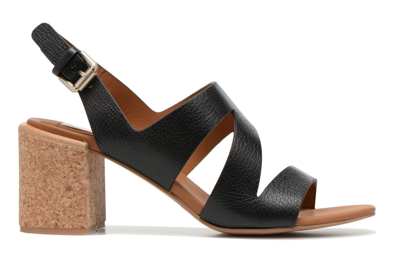 Sandales et nu-pieds See by Chloé Lev Noir vue derrière