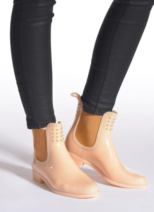 Ankle boots Lemon Jelly Balie Beige view from underneath / model view