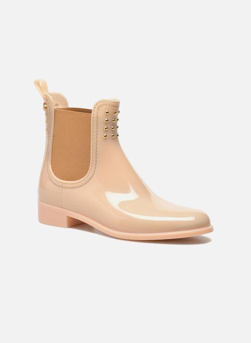 Ankelstøvler Lemon Jelly Balie Beige detaljeret billede af skoene