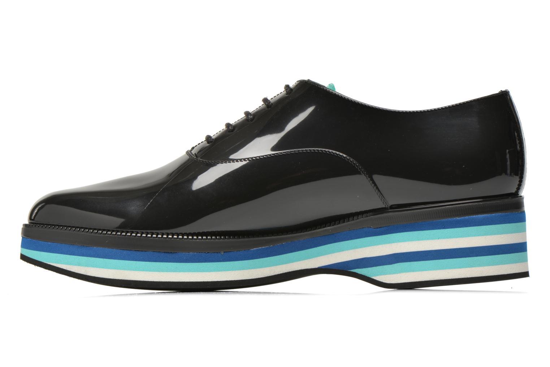 Zapatos con cordones Lemon Jelly Billie Negro vista de frente