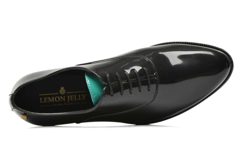 Zapatos con cordones Lemon Jelly Billie Negro vista lateral izquierda