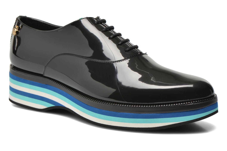 Zapatos con cordones Lemon Jelly Billie Negro vista de detalle / par