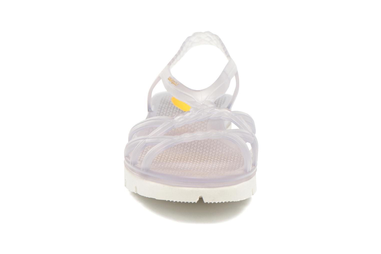 Sandales et nu-pieds Lemon Jelly Miaki Incolore vue portées chaussures