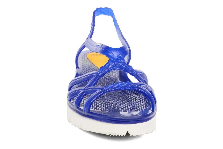 Sandales et nu-pieds Lemon Jelly Miaki Bleu vue portées chaussures