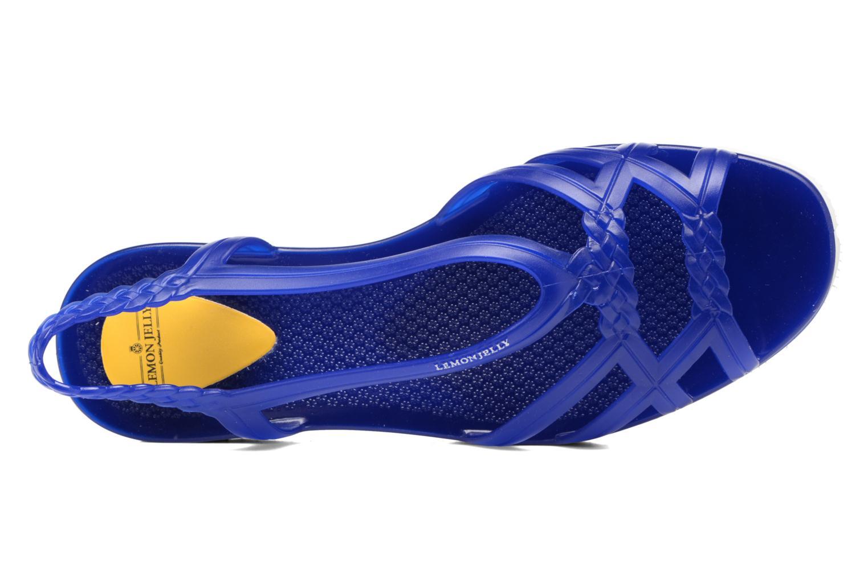 Sandales et nu-pieds Lemon Jelly Miaki Bleu vue gauche