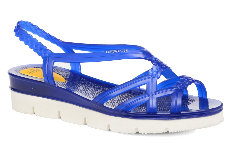 Sandales et nu-pieds Lemon Jelly Miaki Bleu vue détail/paire
