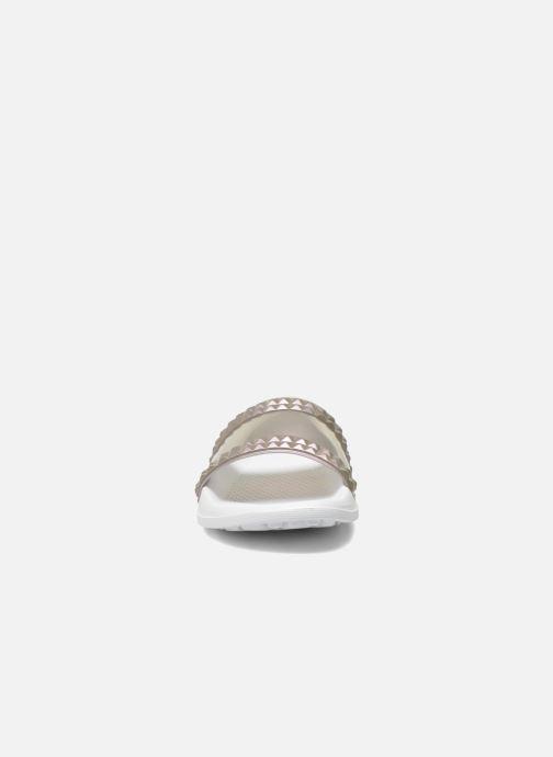 Mules et sabots Lemon Jelly Cool Argent vue portées chaussures