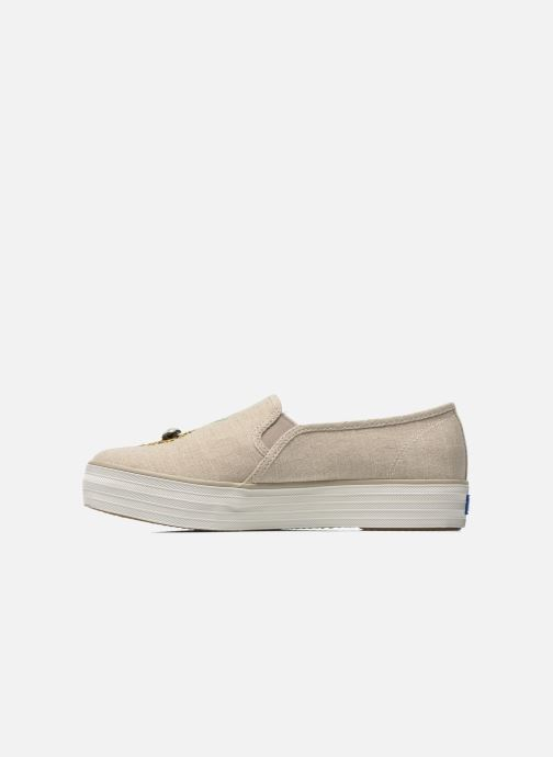 Trainers Keds Triple decker Beige front view