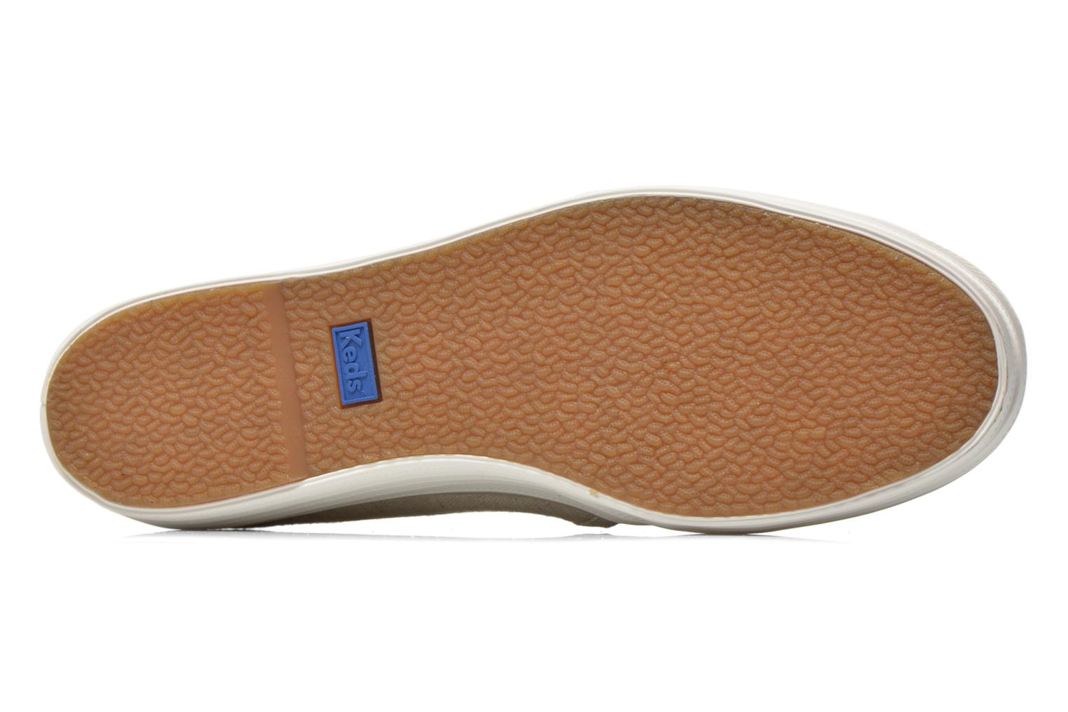 Trainers Keds Triple decker Beige view from above