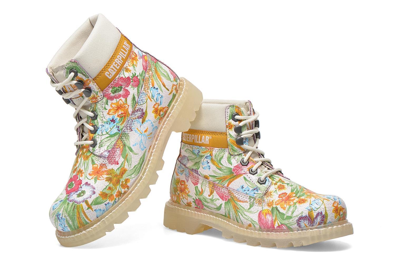 Bottines et boots Caterpillar Colorado Flowers Multicolore vue 3/4