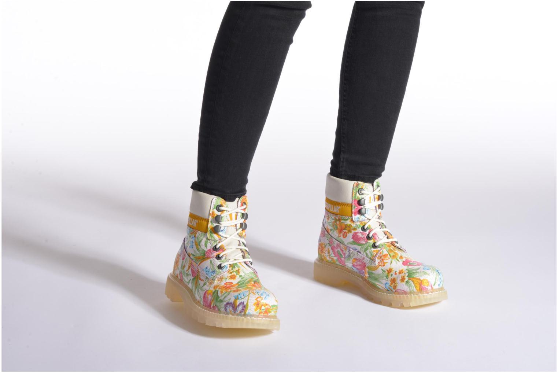 Bottines et boots Caterpillar Colorado Flowers Multicolore vue bas / vue portée sac